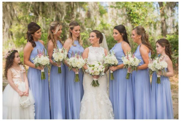Bride _ bridesmaid flowers 2