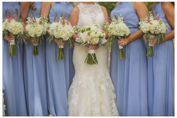 Bride _ bridesmaid flowers